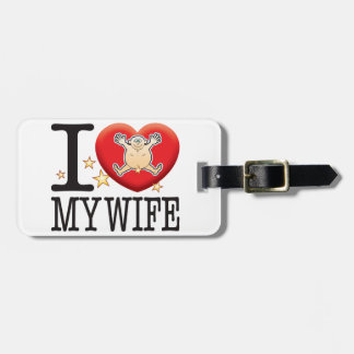 My Wife Love Man Tags For Bags