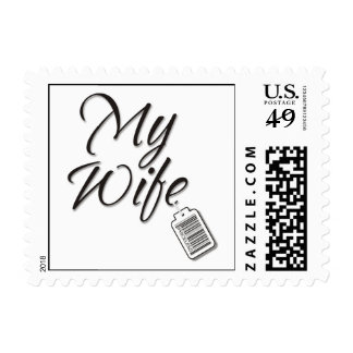 My Wife Priceless Postage Stamp