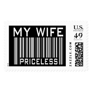 My Wife Priceless Stamp