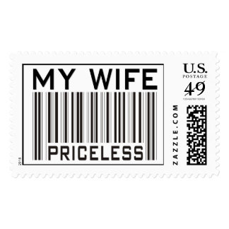 My Wife Priceless Postage Stamps