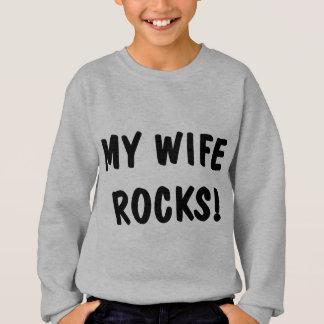 My Wife Rocks Sweatshirt