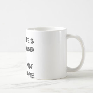 My Wife's Husband Is Freakin' Awesome Coffee Mug