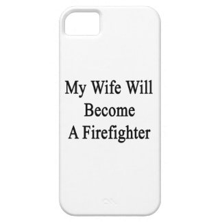 My Wife Will Become A Firefighter iPhone 5 Cover