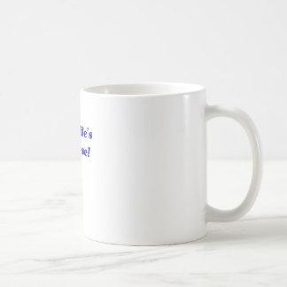 My Wifes a Nurse Coffee Mug