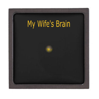 My Wife's Brain Premium Gift Boxes