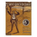 My Wife's Gone To The Country Vintage Songbook Cov Poster