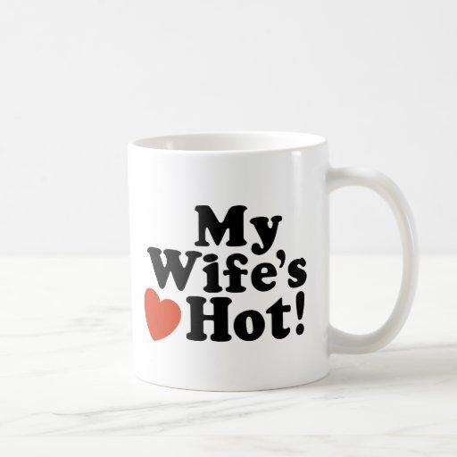 My Wife's Hot Coffee Mug