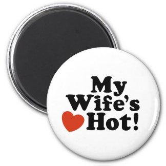 My Wife's Hot Fridge Magnets