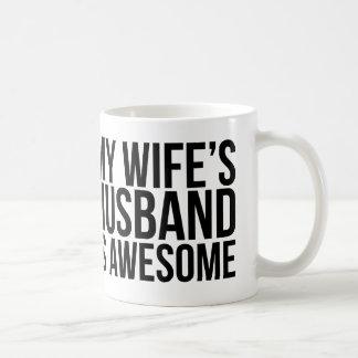 My Wife's Husband Is Awesome Mug