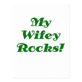 My Wifey Rocks Postcard