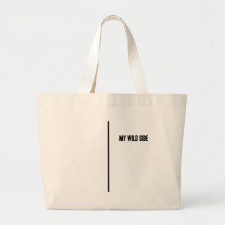 My Wild Side Large Tote Bag