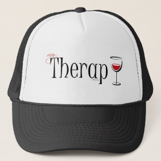My (Wine) Therapy Trucker Hat