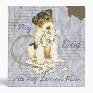 My Wire Fox Terrier Ate My Lesson Plan Binder