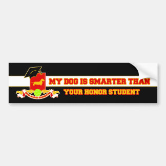 My Wire-haired Dachshund Is Smarter Bumper Sticker