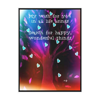 My Wish For You Stretched Canvas Print
