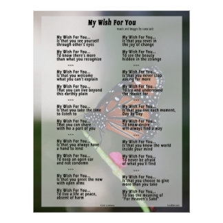My Wish For You Poster (original version)