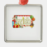 My Wish For You Word Art Girl Birthday Ornament