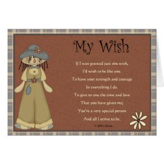 My Wish Greeting Card