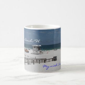 My wish I was there cup, Pensacola Be... Classic White Coffee Mug