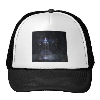 My wish on to BLUE wing Trucker Hat