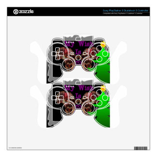 My Wish PS3 Controller Decal