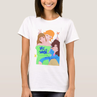 My World are my sisters girls apparel T-Shirt