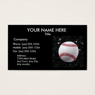 MY WORLD: BASEBALL (v.2 baseball professionals) Business Card