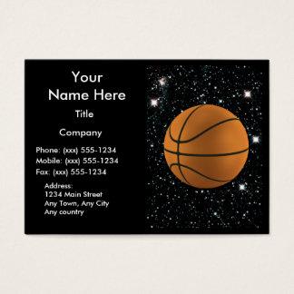 MY WORLD: BASKETBALL ~ BUSINESS CARD