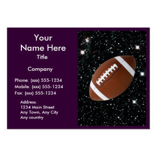 MY WORLD: FOOTBALL (for coaches / instructors) ~ Business Cards