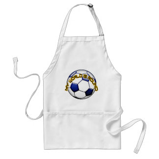 My World is Round Adult Apron