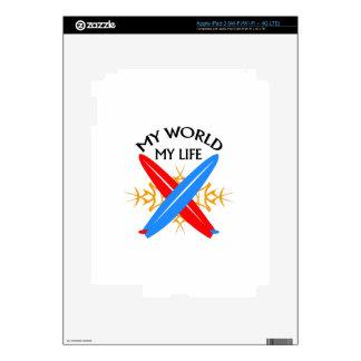 My World My Life iPad 3 Skin