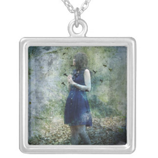 My World Of Beauty Is Falling Apart Necklace