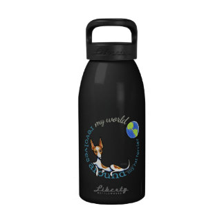 My World Red Rat Terrier Coal Drinking Bottle