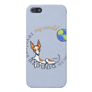 My World Red White Rat Terrier Case For iPhone SE/5/5s