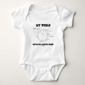 My World Revolves Around Krebs (Energy Cycle) Shirts