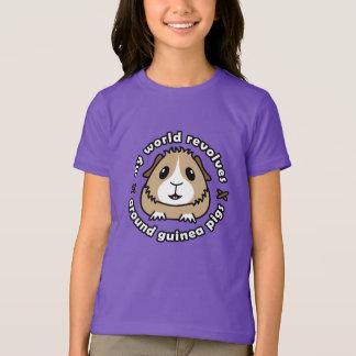 My World Revolves...Guinea Pig Children's T-Shirt