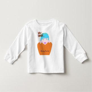 My World Staring Contest girls apparel Toddler T-shirt