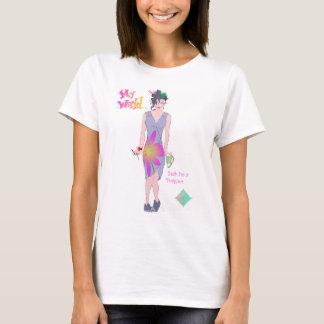 My World Yeah I'm a Designer girls apparel T-Shirt