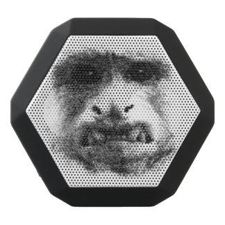 My Worry Face Black Bluetooth Speaker
