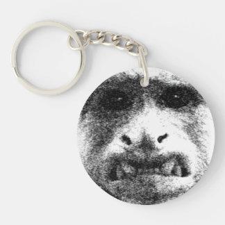 My Worry Face Keychain