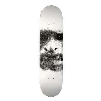 My Worry Face Skateboard