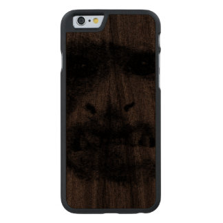 My Worry Face - static Carved® Walnut iPhone 6 Slim Case