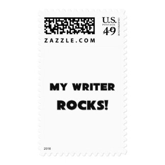 MY Writer ROCKS! Postage Stamp