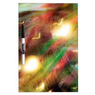 My Xmas Lights Dry-Erase Board