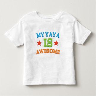 My Yaya is Awesome T Shirt