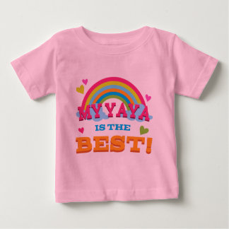 My Yaya Is the Best Baby T-Shirt