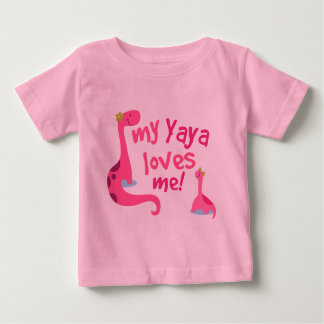 My Yaya Loves Me Dinosaur T Shirt