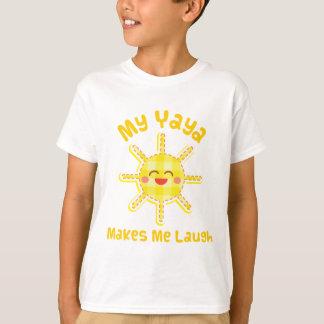 My Yaya Makes Me Laugh T-Shirt