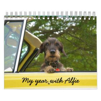 My Year with Alfie Calendar