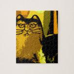MY YELLOW CAT PUZZLES